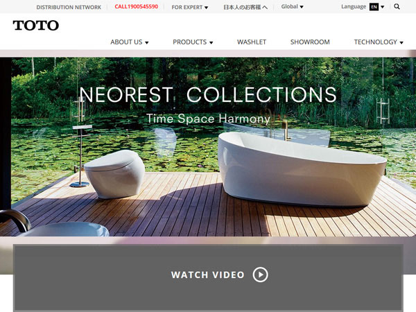 Toto Neorest Collections