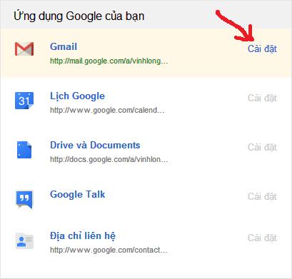 Kết quả hình ảnh cho Gmail đăng nhập 1 theo tên miền riêng của google.com